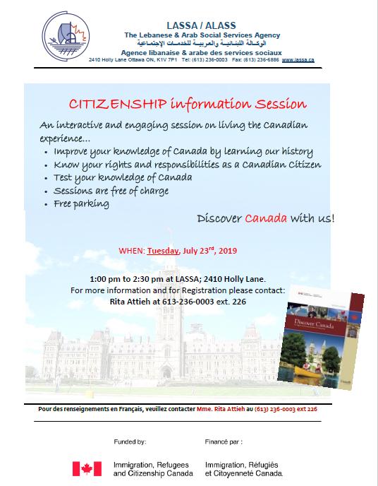 Citizenship Information Session @ LASSA